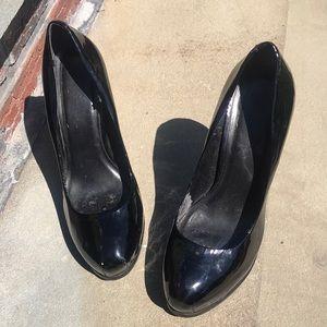 Kelsi Patent Platform Heels